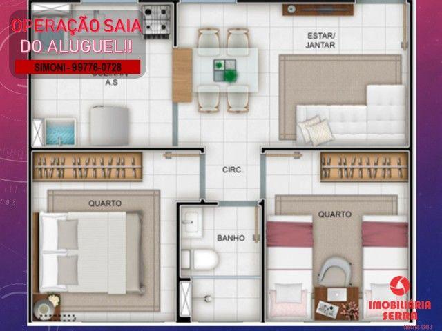 SCL [08] 42m² Apartamento 2 Qtos, Lazer completo/ Vila Bethânia
