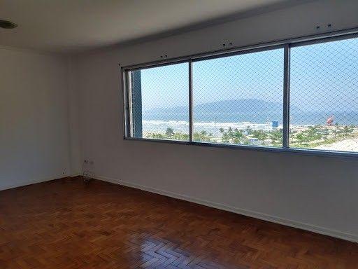 Apartamento com 2 dormitórios para alugar, 118 m² por R$ 2.900,00 - José Menino - Santos/S