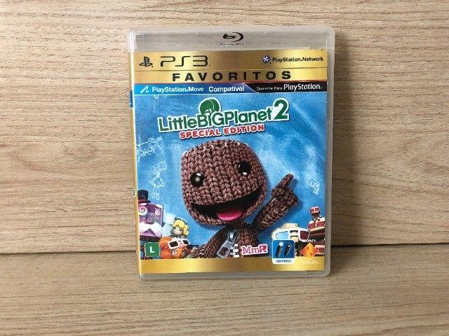Playstation 3 + 1 Controle Remoto + 2 Jogos - Foto 4