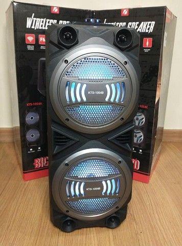 Caixa Super Potente de 1000w (KTS 1054 Bluetooth) - Frete Grátis! - Foto 2