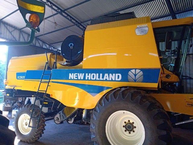 Colheitadeira New Holland TC5090 - Foto 5