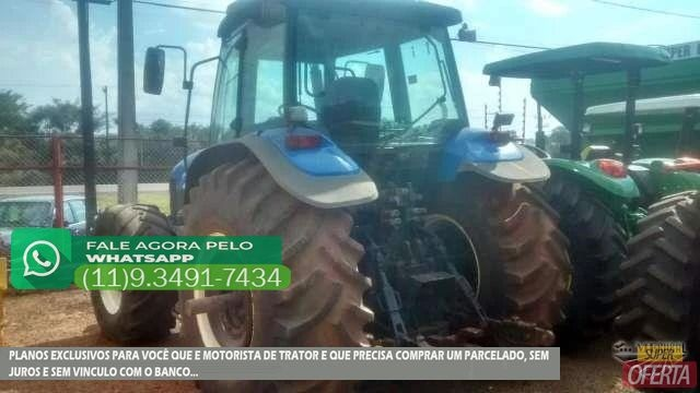 Trator Ford/New Holland TM 180 4x4 ano 06 - Foto 2