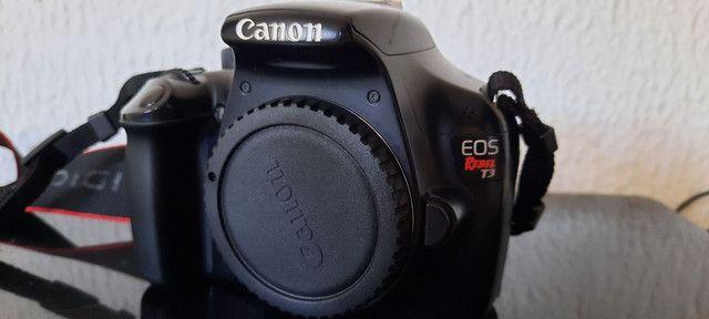 Vendo corpo câmera canon t3