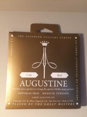 Cordas de violão savarez 520 R e Albert Augustine - Foto 2