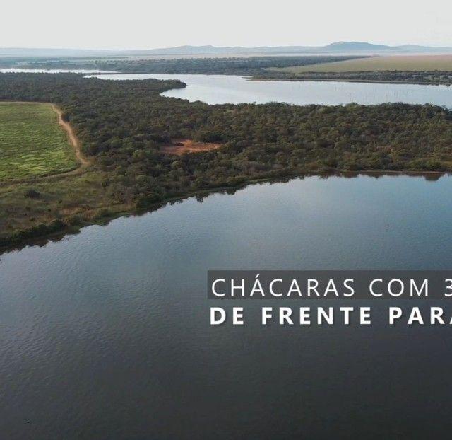 Lançamento chácaras beira lago individual parceladas no boleto  - Foto 8