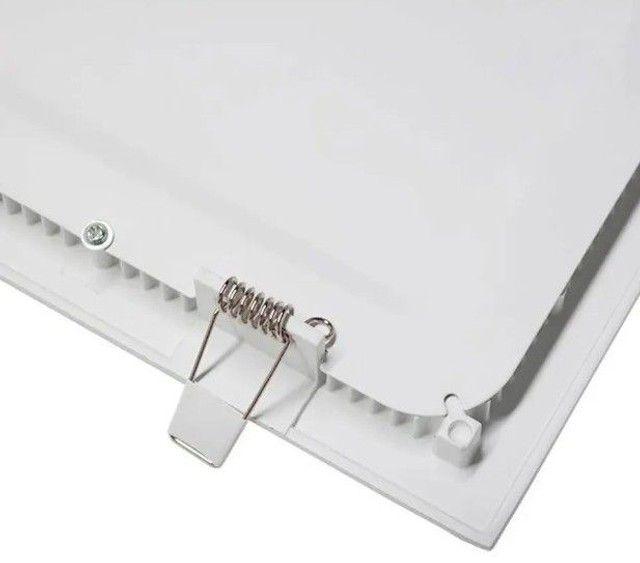 Plafon Led Quadrado Embutir 25w Branco Neutro 4000k 30cm x30cm - Foto 3