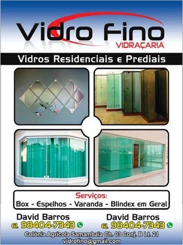 Manutenção portas janelas e box.