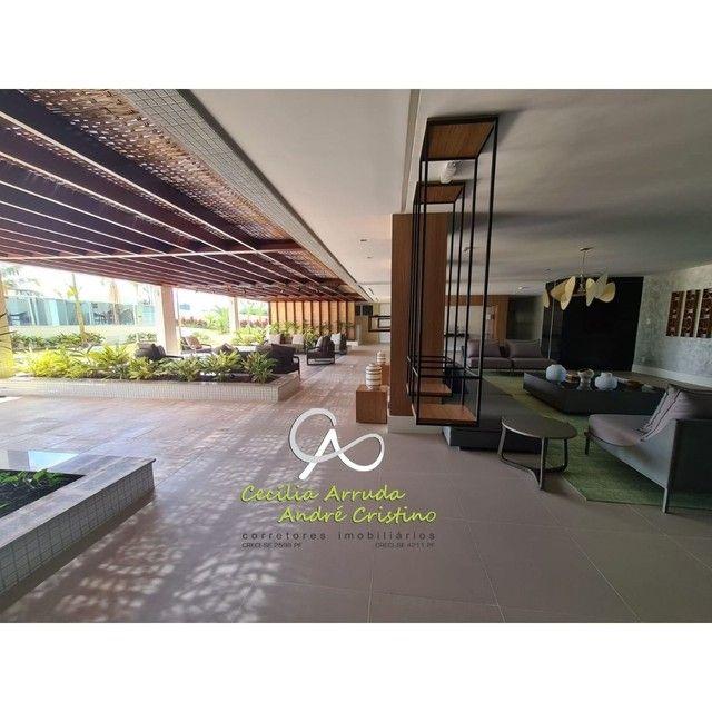 apartamento 4/4 suítes, varanda gourmet, vista livre permanente, Jardins, Aracaju/SE - Foto 8