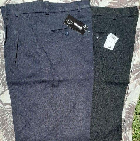 Vendo pacote fechado (30 peças) de calças sociais masculinas - Foto 2