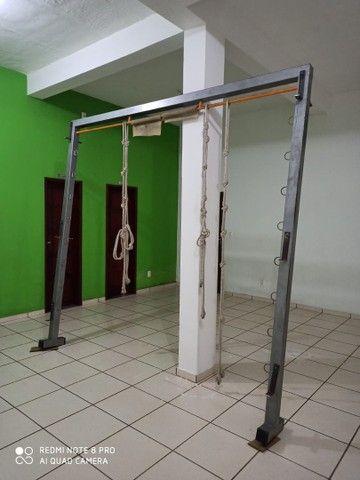 Rack suporte aparelhos aéreos de pilates - Foto 5
