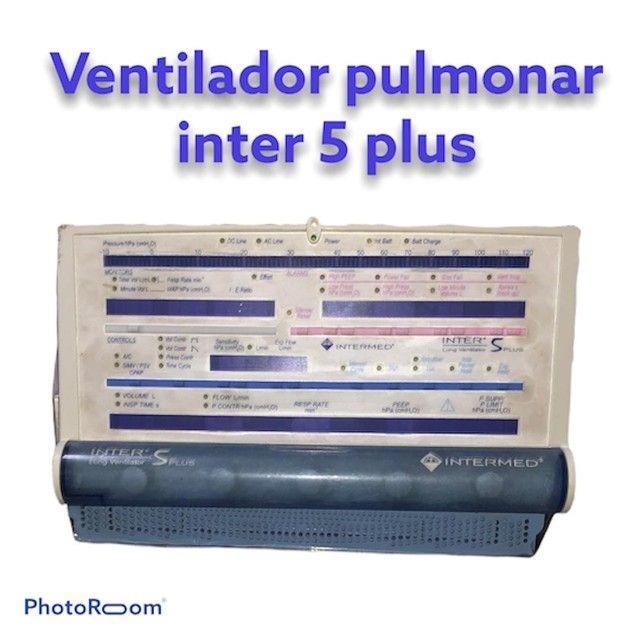 Respirador mecânico | ventilador pulmonar inter 5 plus