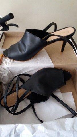 Sapato Novo Amarração N39 - Foto 2