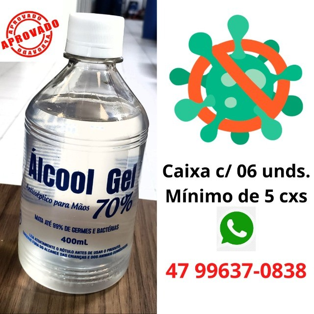 Mega Promoção imperdivel de Álcool Gel por apenas 3,49 - Foto 2