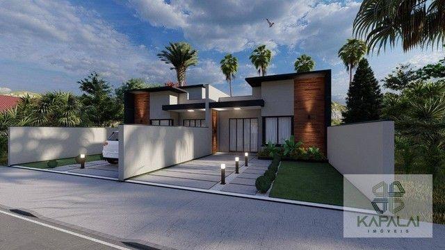 Casa com 2 dormitórios à venda, 62 m² por R$ 269.000 - Itajuba - Barra Velha/SC