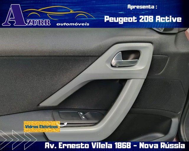 PEUGEOT 208 ACTIV COMPLETO 1.5 FLEX REVISADO GARANTIA BAIXA KM IMPECÁVEL   - Foto 7