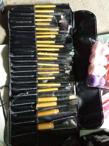 Amo Make - Kit Pincel com 24 Unidades - Foto 2