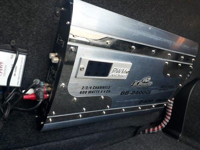 Modulo B buster 2400 whats rms - Foto 2