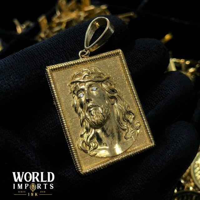 joias de moeda antiga,cor identica ao ouro 18k - Foto 6