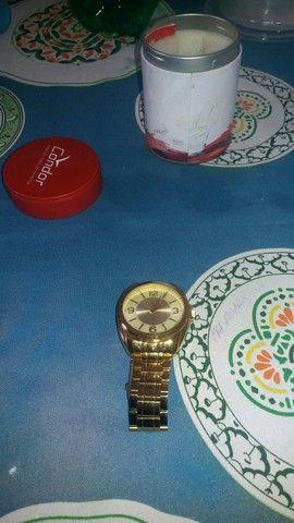 Relogio folheado a ouro 400 reais novo na caixa.