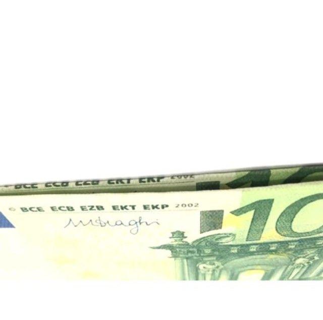 Carteira Estampada de Notas Estrangeiras Dólar/ Euro/ Real Guardar Cédulas Documentos  - Foto 4