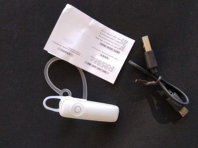 100% novos Fone De Ouvido Bluetooth Headset M165 - Foto 5