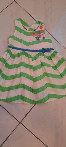 Lote de roupa infantil feminina - Foto 5