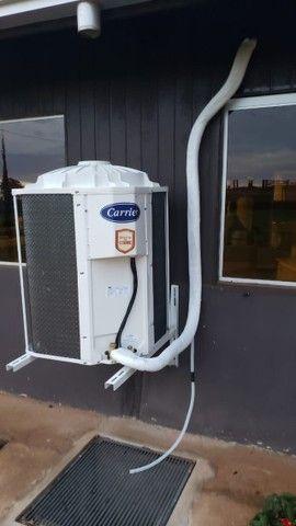 Instalação, Manutenção, Carga de gás DAF ar condicionado