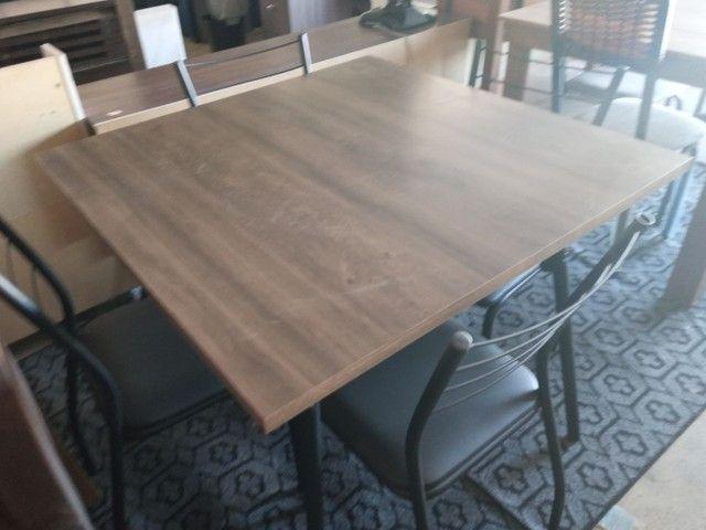 Jogo de mesa legno preto 4lugar  - Foto 3