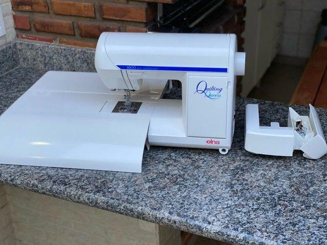 Máquina de costura Doméstica com pontos decorativos   - Foto 4