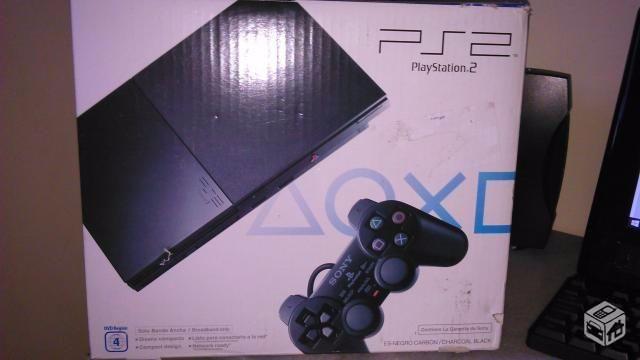 Playstation 2 + Jogos + Garantia de 01 ano