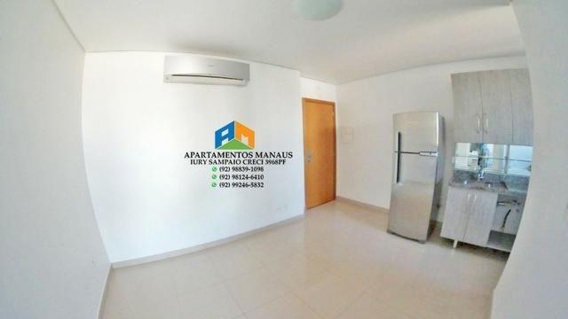 Flat no coração de Manaus Vieiralves Space Center cozinha e quarto equipados!