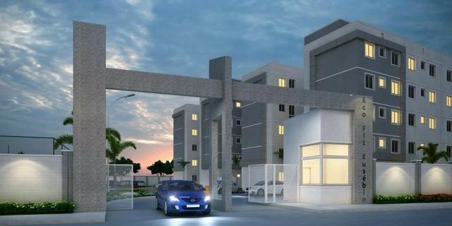 Eusébio - Apartamentos de 02 quartos lazer completo com a entrada facilitada