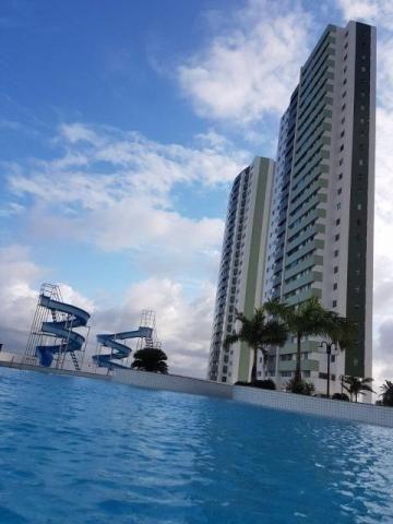 Cond. Luau de Ponta Negra; 3 quartos; 117m²; Móveis projetados; 3 vagas; em Ponta Negra