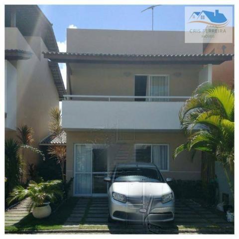 Casa condomínio fechado com 3 suítes à venda, Stella Maris, Salvador - CA0019.