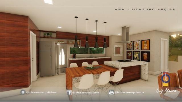 Condomínio Florais dos Lagos, casa Sobrado com 4 suites, em fase de construção - Foto 4