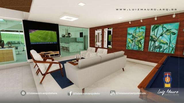Condomínio Florais dos Lagos, casa Sobrado com 4 suites, em fase de construção - Foto 17