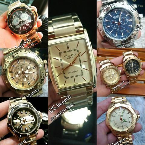 170e51059b1 Relógios Atlantis Originais Masculino e Feminino (Apartir de 69