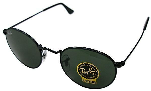 4490029551f9c Óculos De Sol Ray Ban Rb3447 Round Redondo original - Bijouterias ...