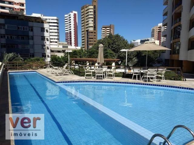 Apartamento com 3 dormitórios à venda, 137 m² por R$ 850.000,00 - Cocó - Fortaleza/CE - Foto 7