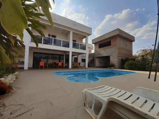 Sobrado qd 01** 3 suites + piscina - Cond. Estancia Quintas da Alvorada