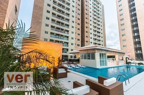 Apartamento com 3 dormitórios à venda, 62 m² por R$ 259.000,00 - Parangaba - Fortaleza/CE - Foto 5