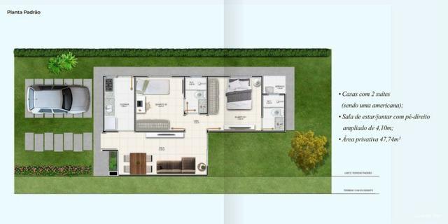 Canadá Houses Pé-direito ampliado de 4,10 metro no bairro Sim - Foto 6