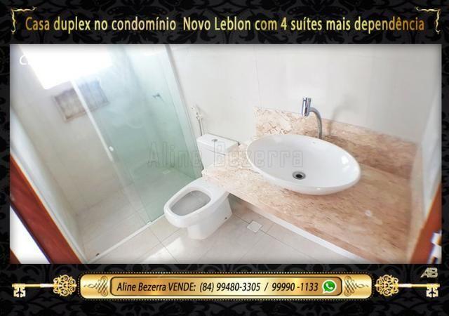 Duplex com 5 suítes no condomínio Novo Leblon, confira - Foto 12