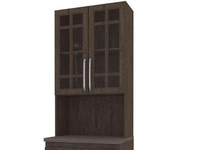 Paneleiro Torre com Tampo e 4 Portas Mery - Indekes (Em Até 12 X Sem Juros) - Foto 4