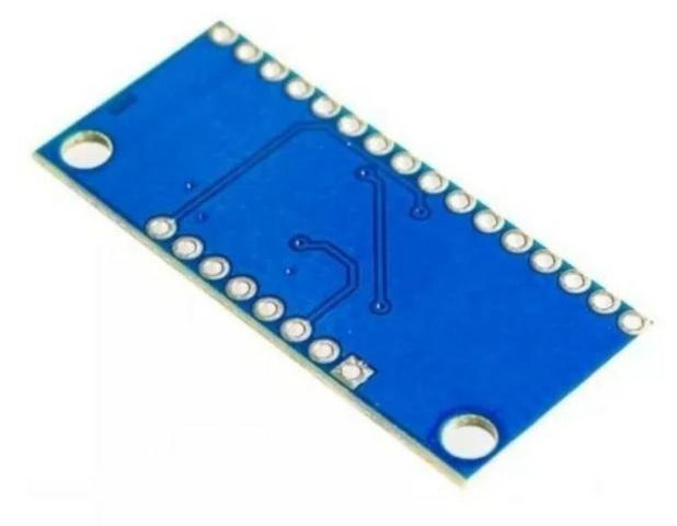 COD-AM281 Módulo Multiplexador 16 Portas Cd74hc4067 Arduino Automação Robotica - Foto 2