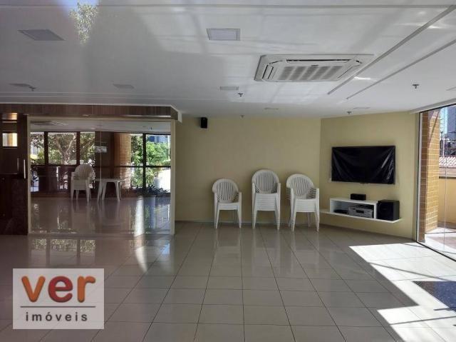 Apartamento com 3 dormitórios à venda, 137 m² por R$ 850.000,00 - Cocó - Fortaleza/CE - Foto 9