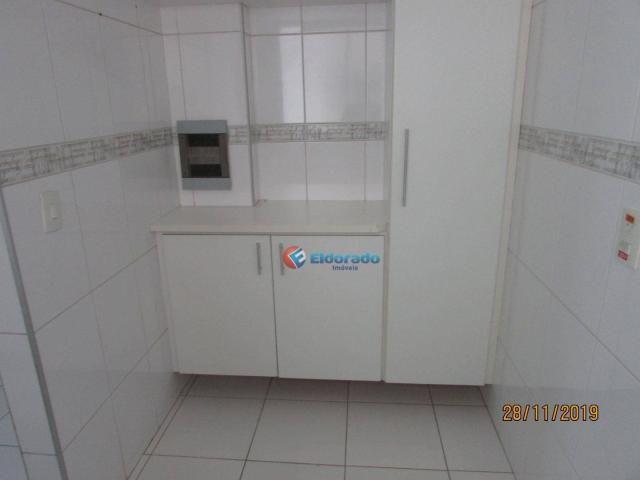 Apartamento com 3 dormitórios para alugar, 60 m² por r$ 1.100,00 - jardim são carlos - sum - Foto 12