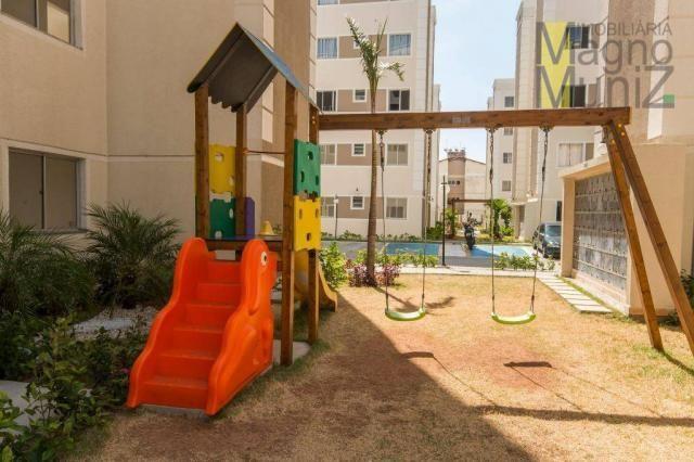 Apartamento com 2 dormitórios para alugar, 50 m² por r$ 600,00/mês - vila velha - fortalez - Foto 12