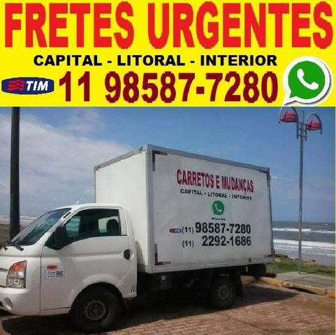 Carreto e Mudança - Belém - Mooca - Tatuapé - Centro - Vila Mariana - Ipiranga