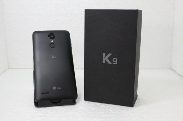 LG K9 com caixa carregador e fone e nota fiscal